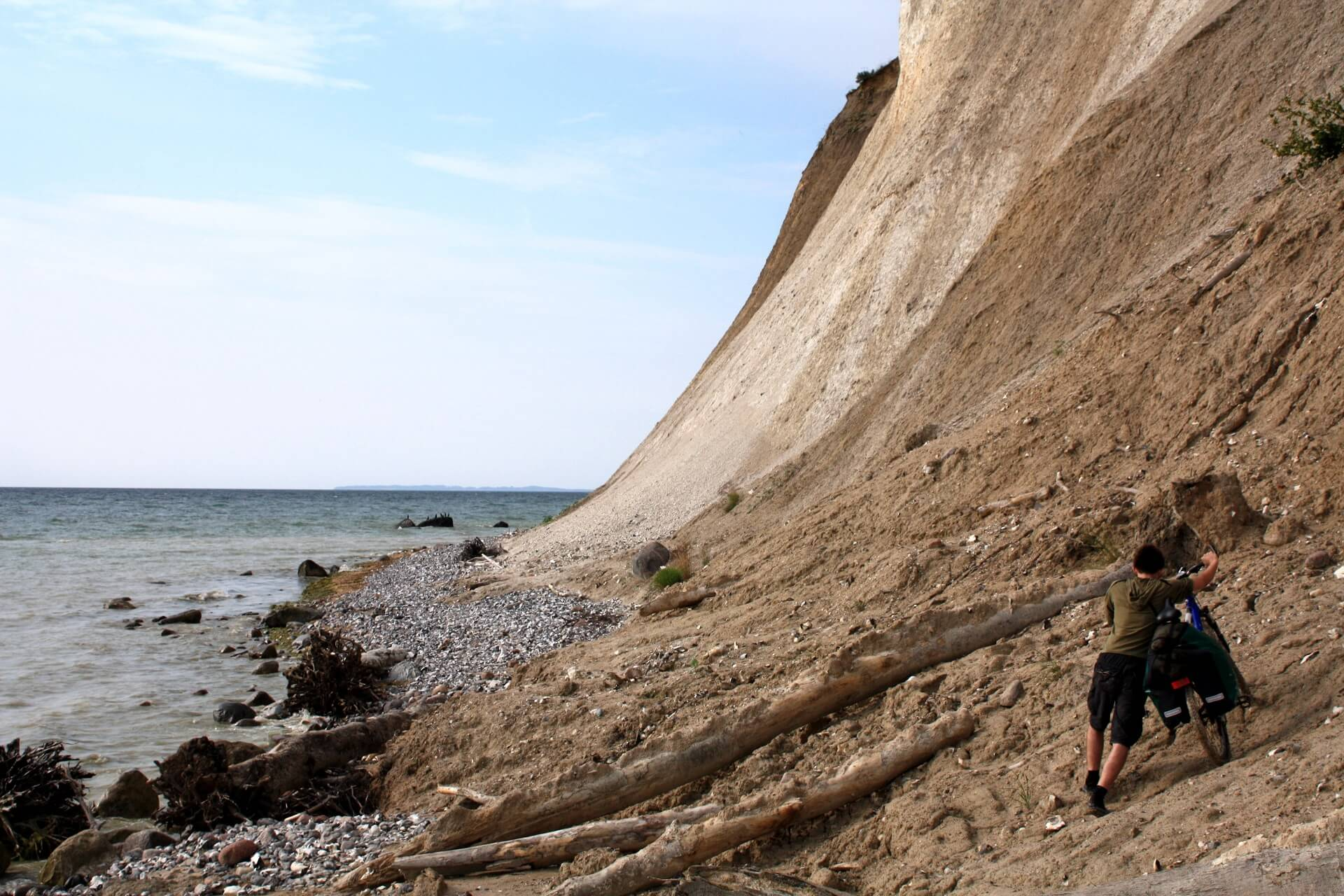 Wyspa Rugia wNiemczech wyprawa rowerowa klify