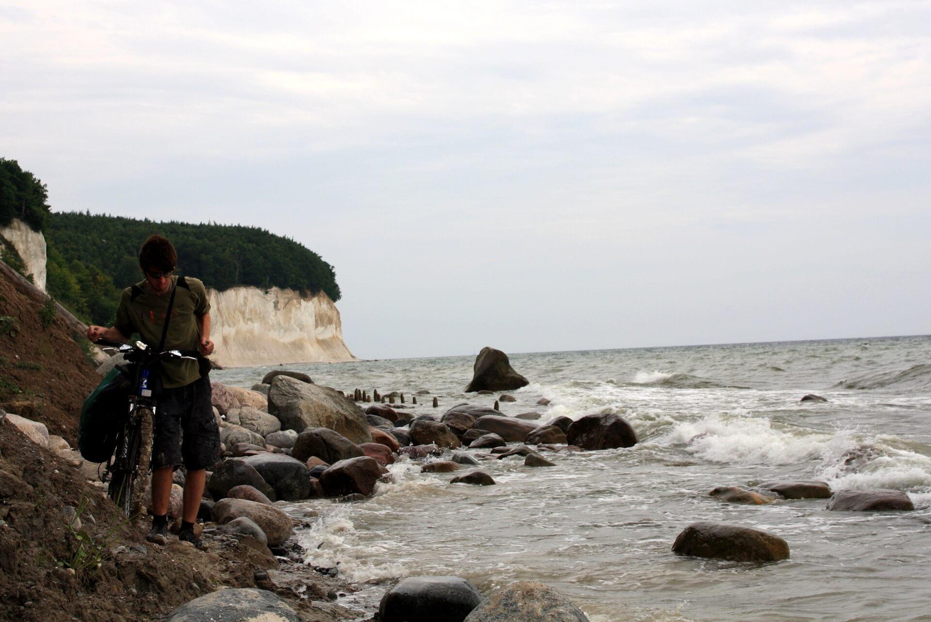 Wyspa Rugia wNiemczech wyprawa rowerowa