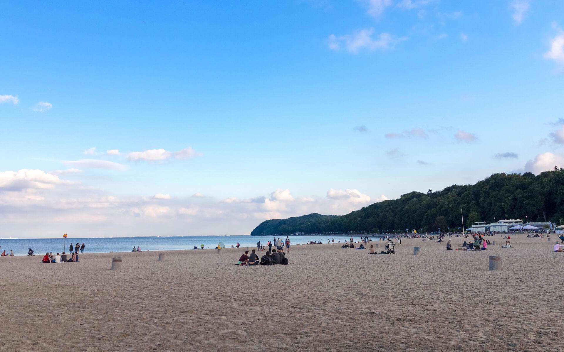 Plaża miejska w Gdyni – Relacja zdjęciowa