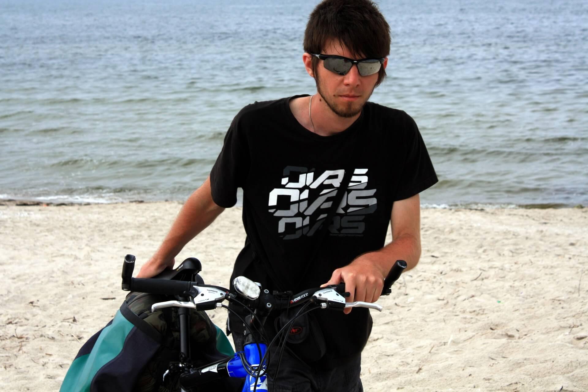 Rowerem wzdłuż wybrzeża - wyprawa rowerowa - Dźwirzyno