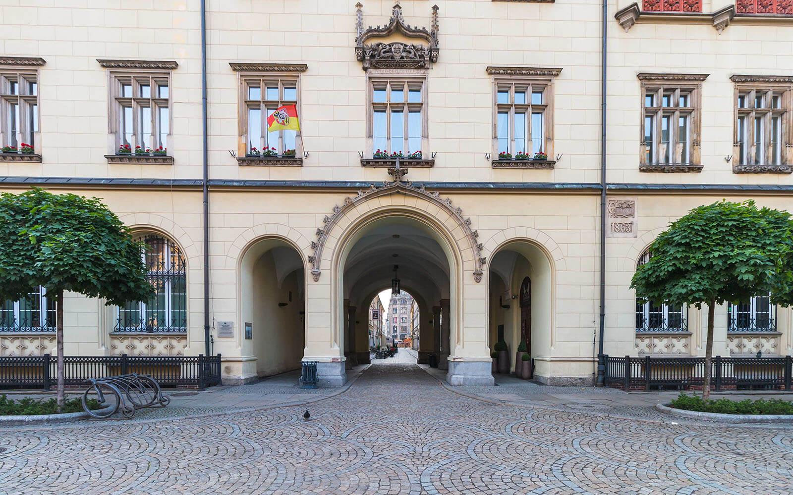 Brama Wrocławskiego Ratusza