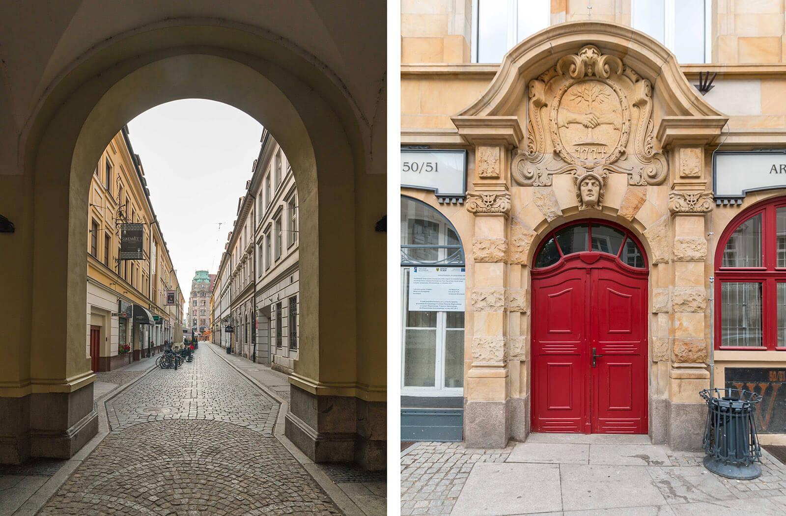 Brama narynku weWrocławiu