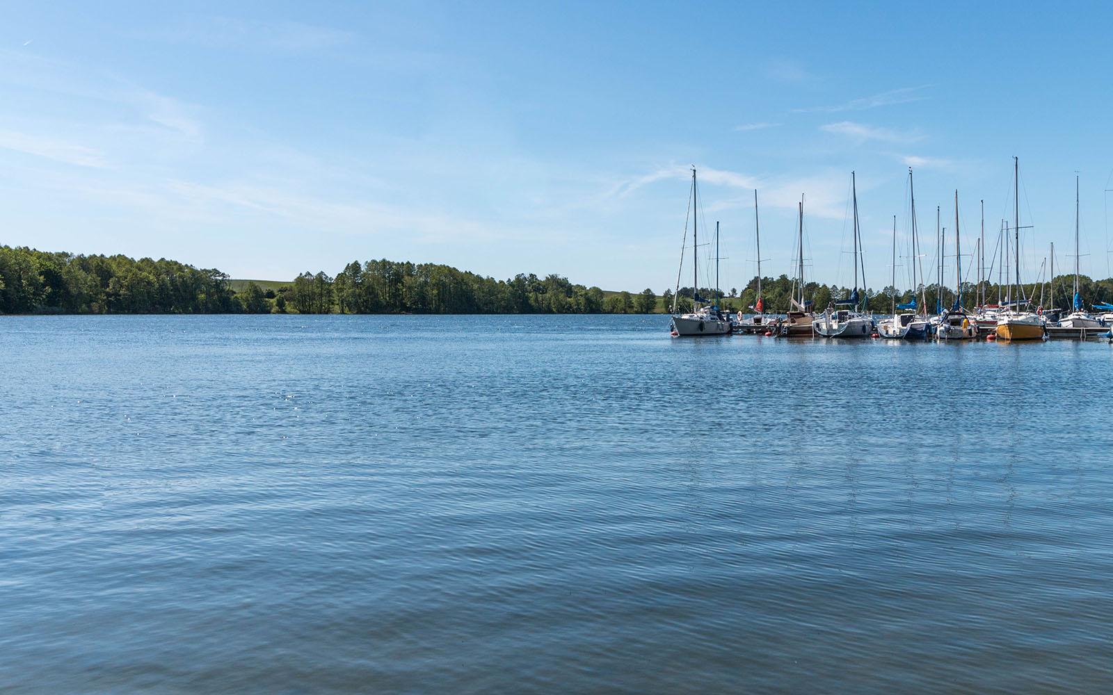 Port dla jachtów wCzaplinku