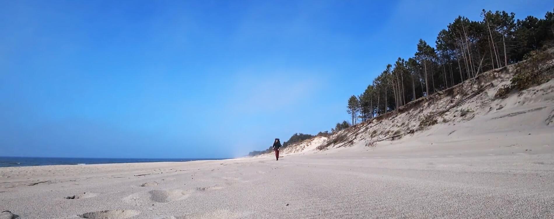 Wyprawa wzdłuż polskiego wybrzeża Bałtyku (vlog)