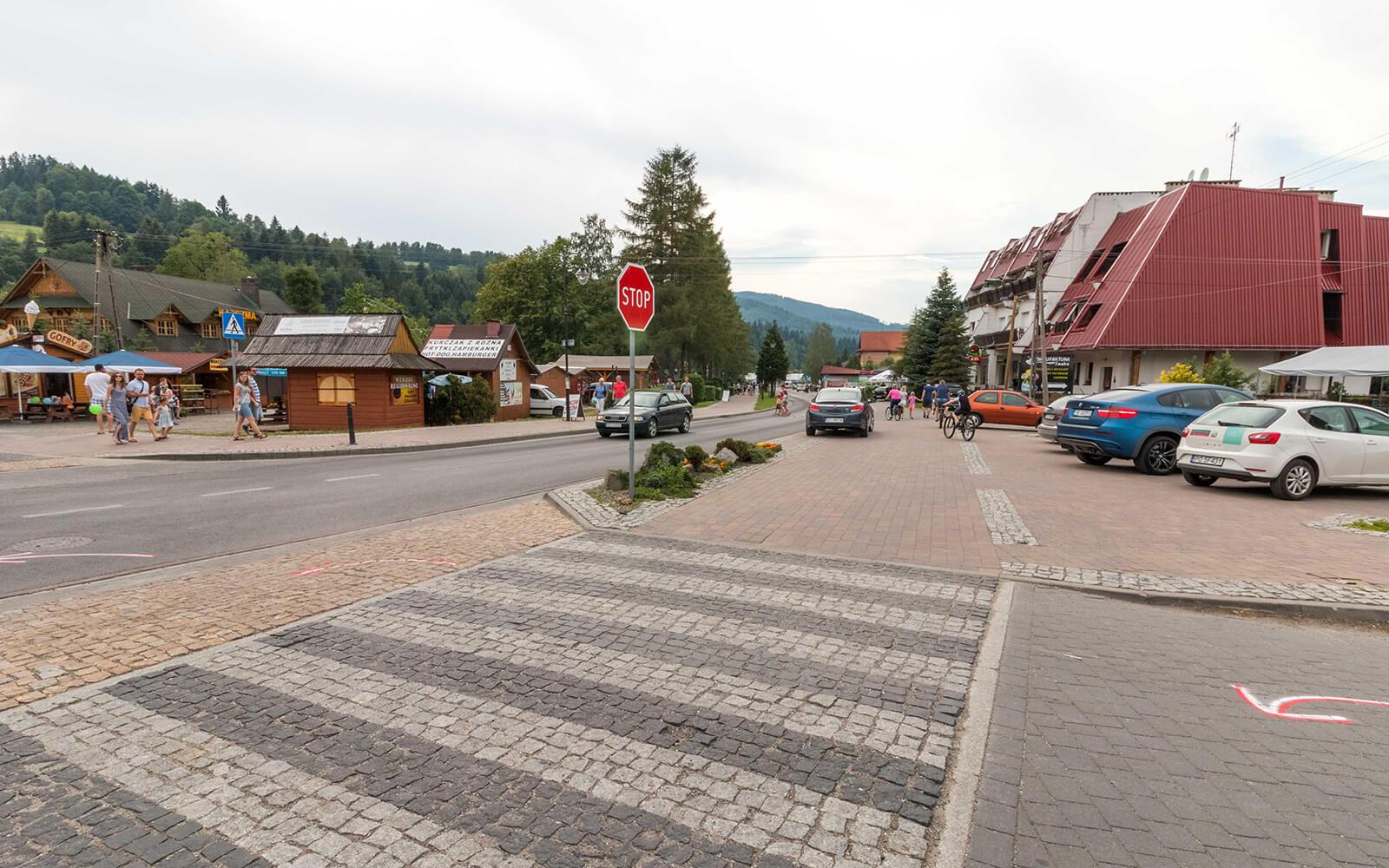 Centrum miasta Brenna