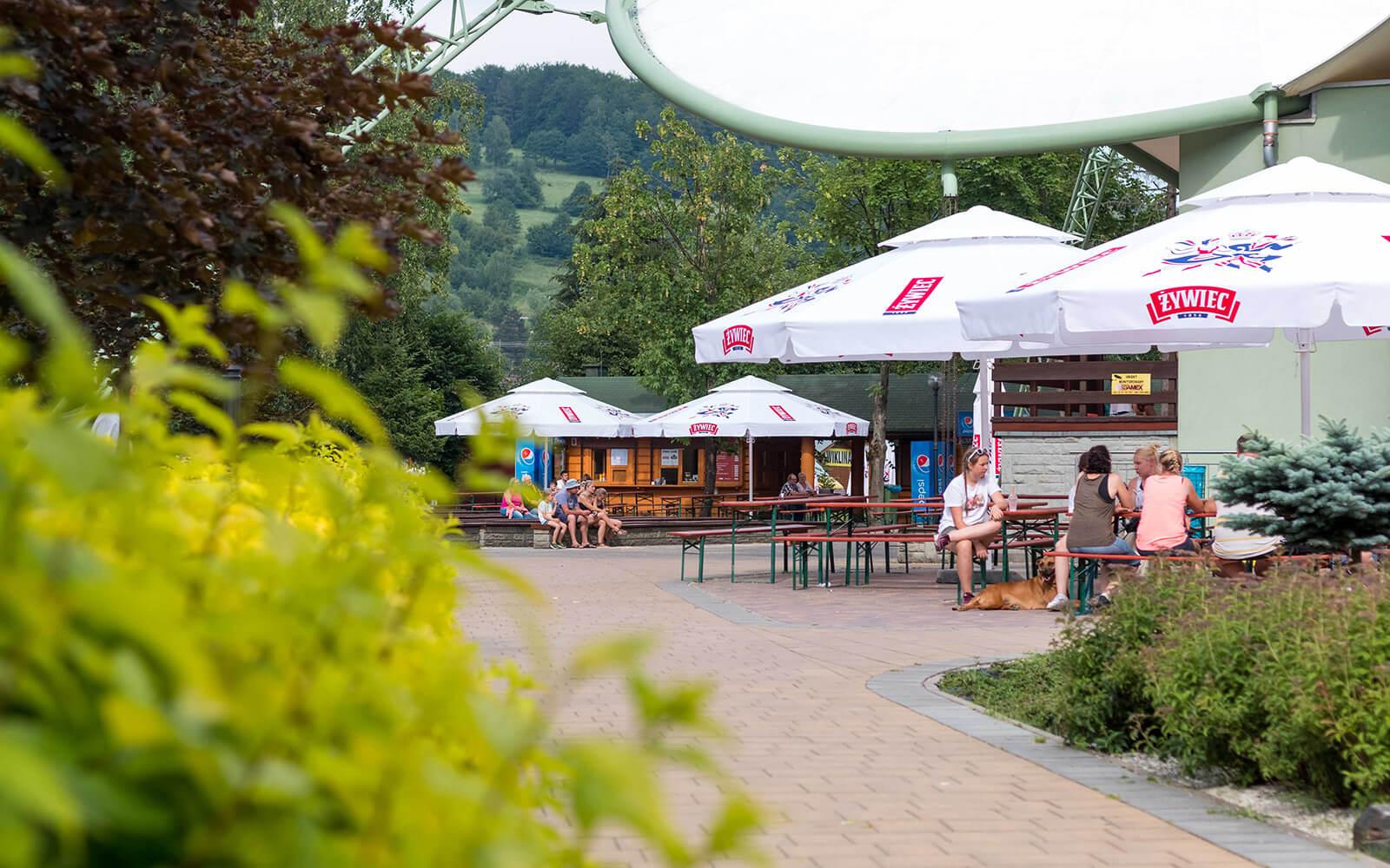 Park turystyki wcentrum Brennej