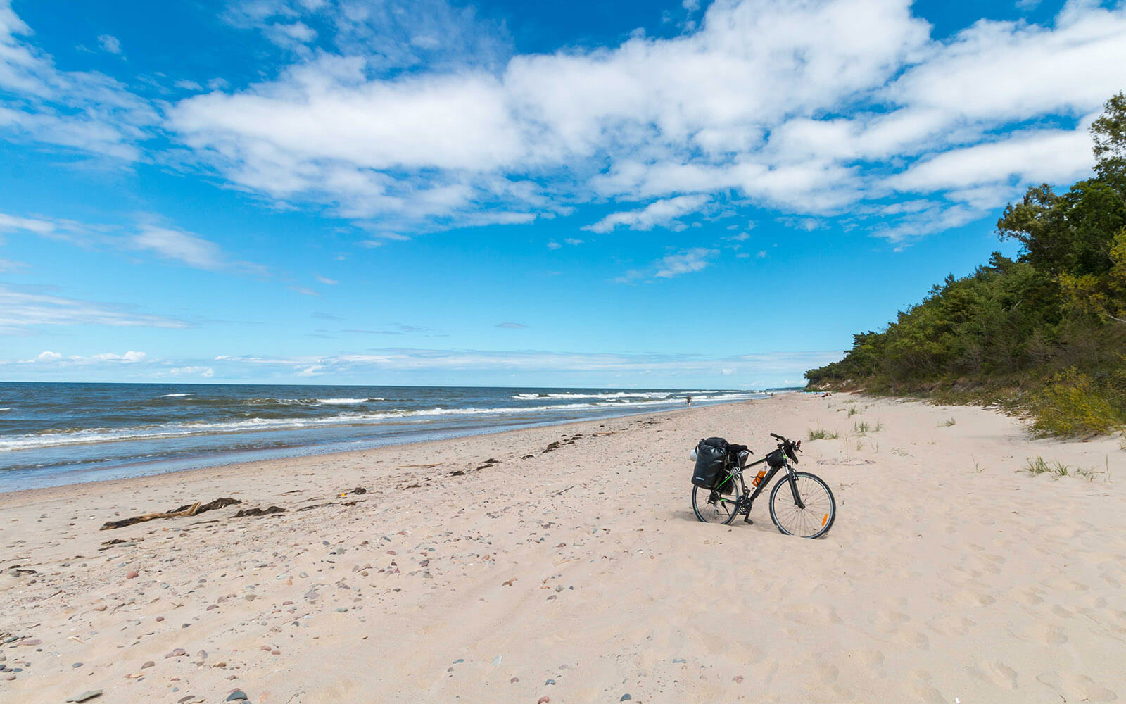 Plaża nadmorska wŁukęcinie