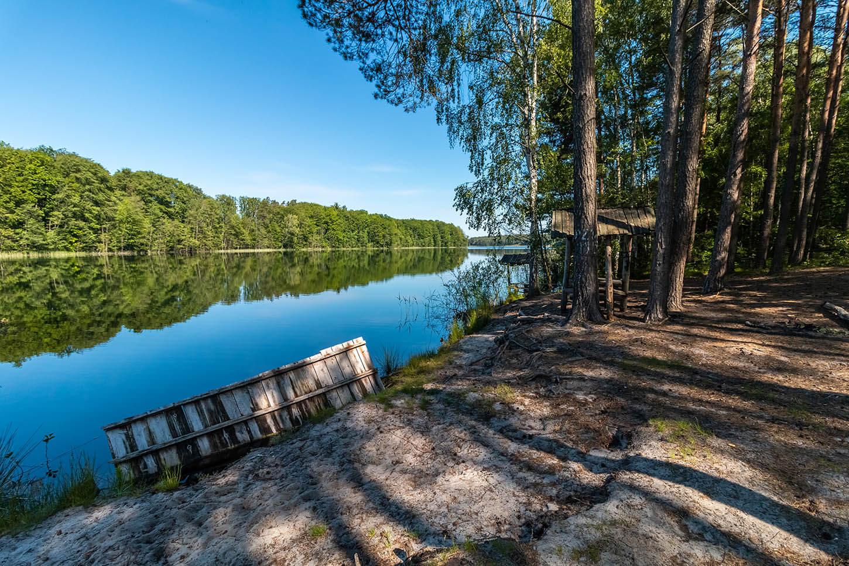 Jezioro Piaseczno koło DPN