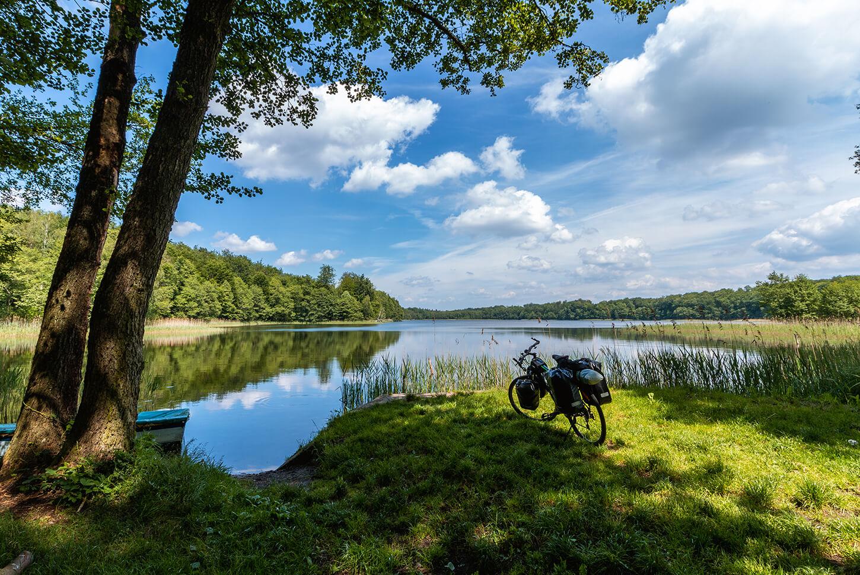 Rowerowa podróż po Ińskim Parku Krajobrazowym