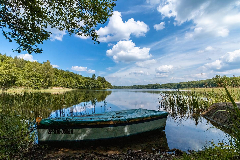 Jezioro Okunie Iński Park Krajobrazowy