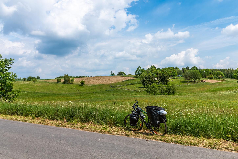 Szlaki rowerowe Iński Park Krajobrazowy