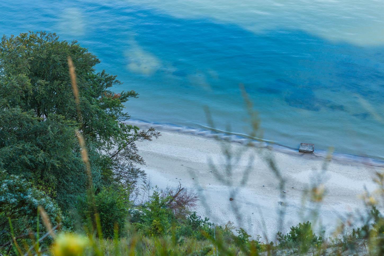 Plaża nawyspie Wolin
