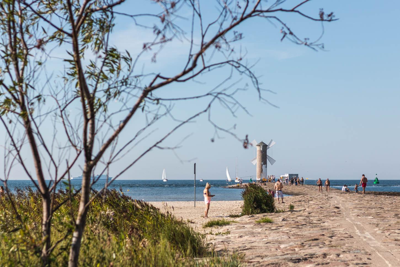 Świnoujście latem plaża