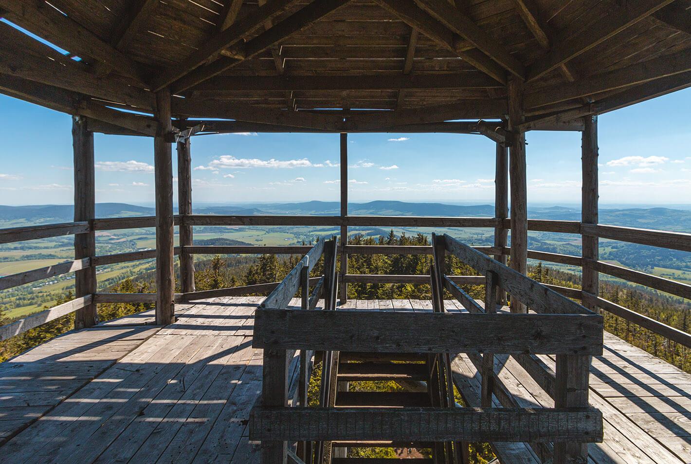 Trójmorski Wierch wieża widokowa