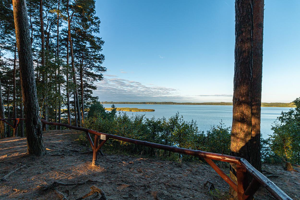 Park Narodowy Bory Tucholskie punkt widokowy
