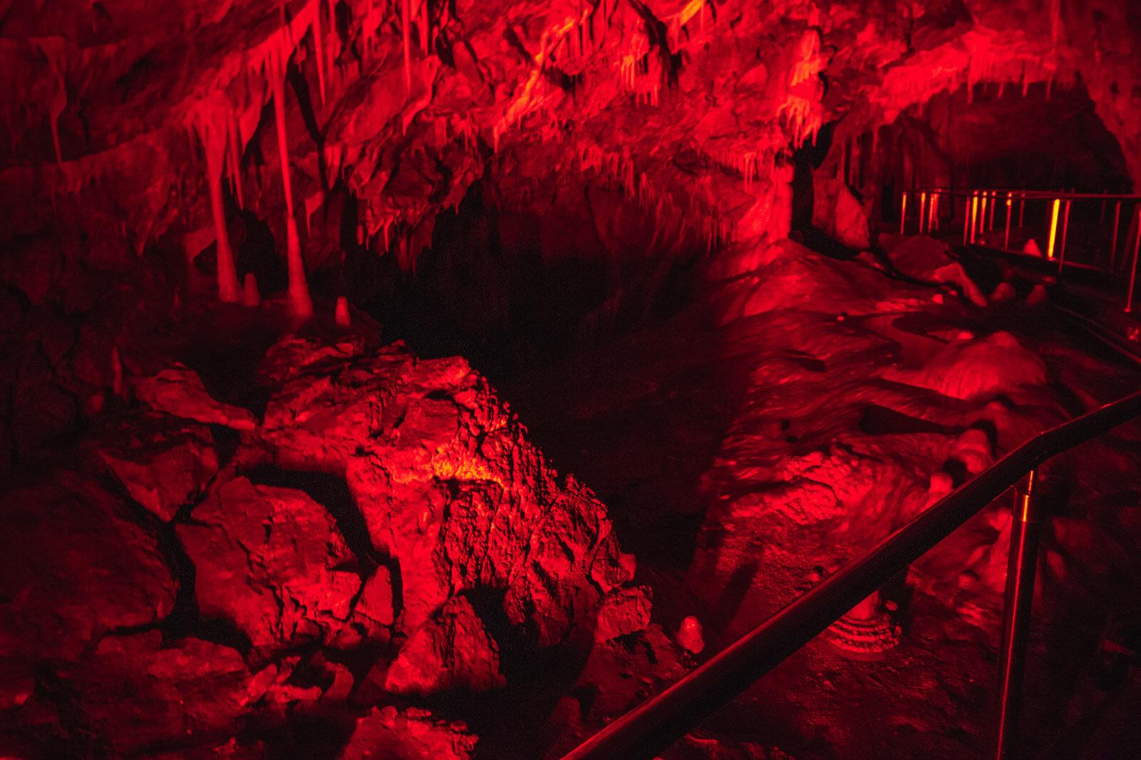 Tunele wJaskini Niedźwiedzia