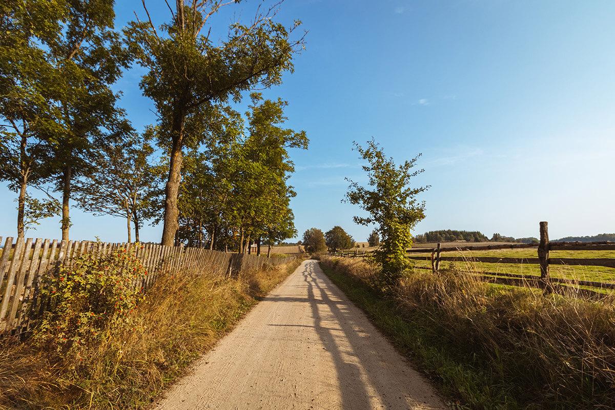 szlak rowerowy nakaszubach