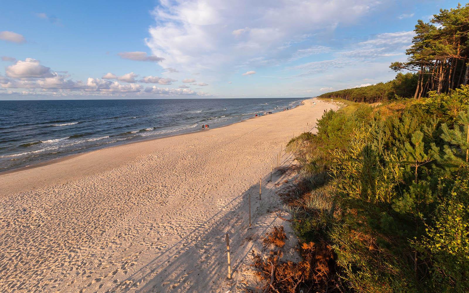 Plaża Mrzeżyno