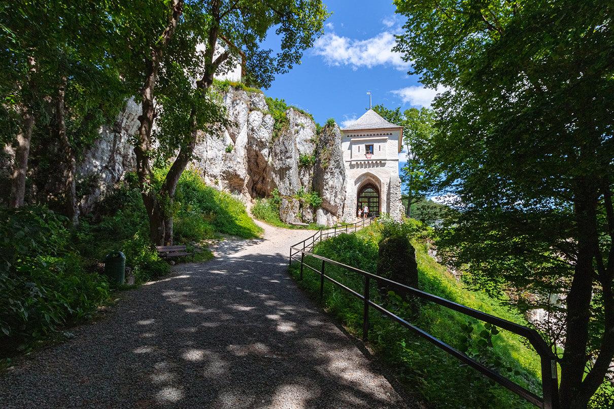 Ruiny Zamku Królewskiego wOjcowskim Parku Narodowym