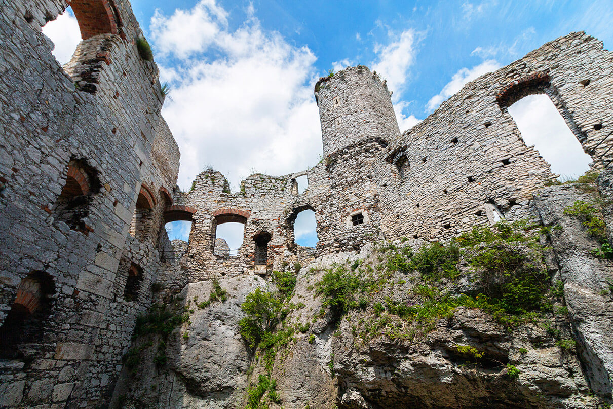 Zamek wOgrodzieńcu