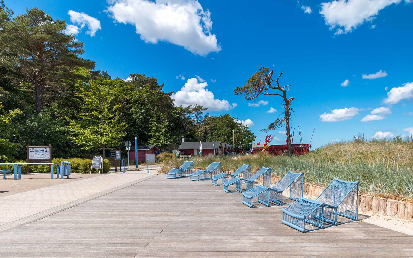 Atrakcja wHeringsdorf wyspa uznam