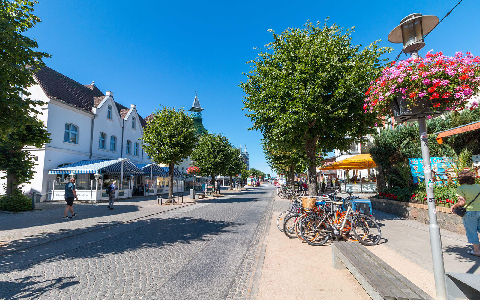 Centrum miasta Zinnowitz