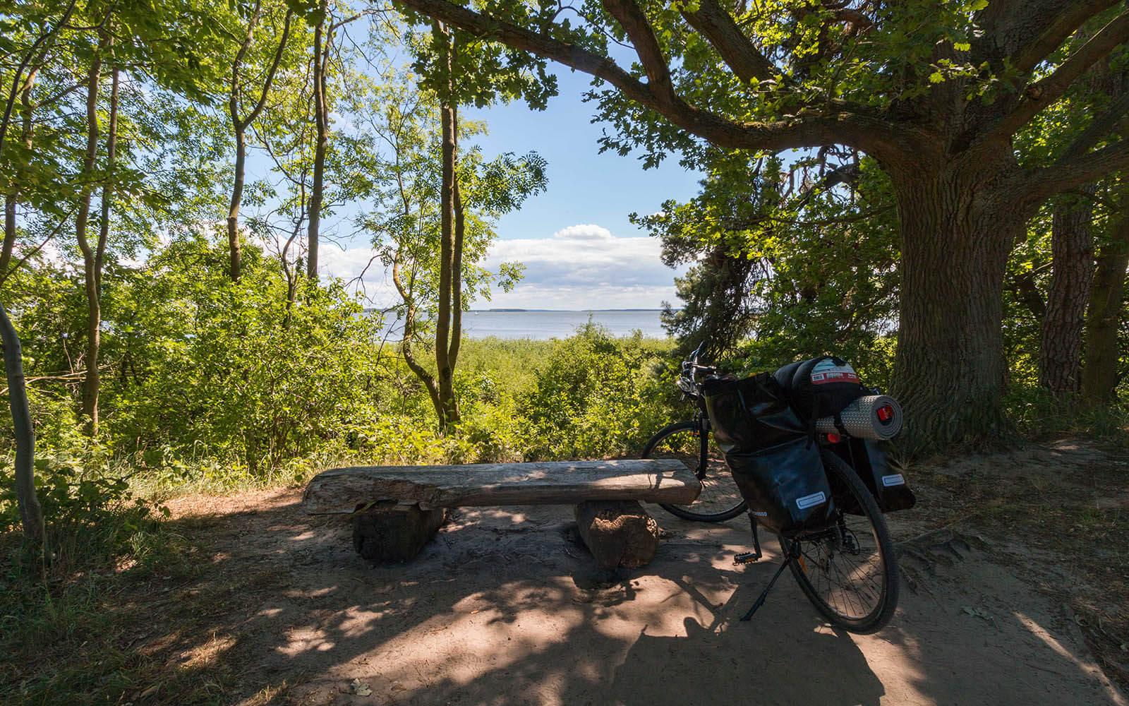 ławska wparku krajobrazowym nawyspie Uznam