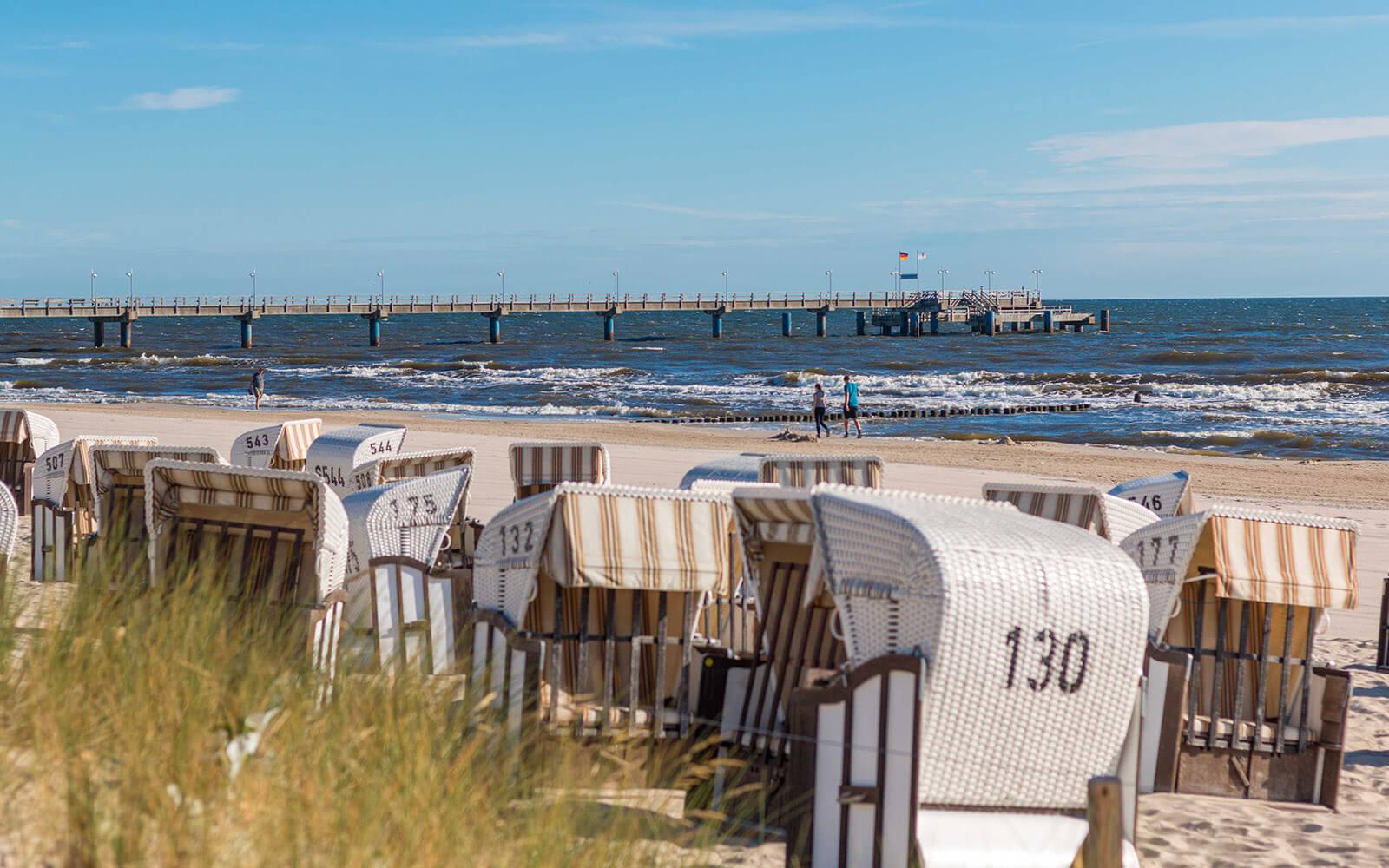 Plaża imolo wAhlbeck